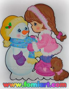 Navidad Fomiart Precious Moments, Princess Peach, Smurfs, Santa, Clip Art, Winter, Cute, Christmas, Crafts