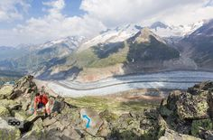 The Bettmerhorn – Eggishorn Ridge by Rob Kints on 500px