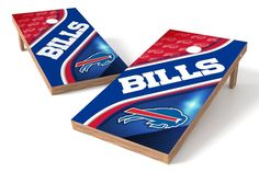 Buffalo Bills Cornhole Board Set - Swirl
