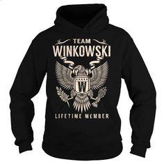 Team WINKOWSKI Lifetime Member - Last Name, Surname T-Shirt - #coworker gift #hoodie for teens