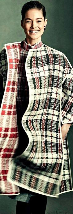 Duoutzen Kroes | Elle France  This pattern would be nice in Auburn Tigers colors