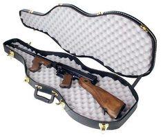 "Thompson Violin Case, ""Tommy Gun"" Ready"