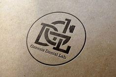 Genesis Dental Lab logo by Craig Valentino / repinned on toby designs
