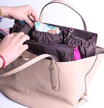 Handbag Organizer For Mom Turn Your Tote Into A Diaper Bag Purse