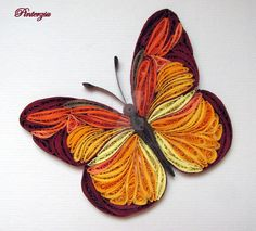 Quilled butterfly by pinterzsu on DeviantArt