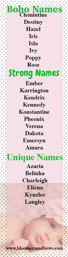 100 unique yet beautiful girls names unique girls and babies boho baby girl names strong baby girl names and unique baby girl names urmus Image collections