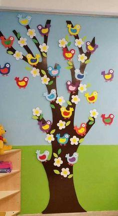 Craft gifts for kids classroom ideas for 2019 Kids Crafts, Tree Crafts, Preschool Crafts, Easter Crafts, Diy And Crafts, Arts And Crafts, Crafts For Children, Children Garden, Free Preschool