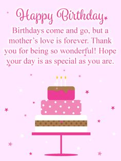 109 Best Birthday Cards For Mother Images In 2018