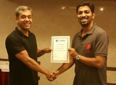 Congratulations Gaurav Bhosle - On being awarded the Prestigious NLP Practitioner certificate  NLP Training from Anil Dagia - India's Most Innovative NLP Trainer  Attend the next World's 1st ICF + NLP Dual Certification Life Coach Training in Pune (India) - 4 Apr  http://www.anildagia.com/events