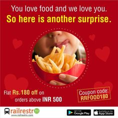 Order delicious food in train journey on the go and get food delivered on seat. Jain, Veg, Non-veg food options available. Book Food on train now! Veg Thali, Jain Recipes, Food Coupons, Order Food Online, Tasty, Yummy Food, Train Journey, Biryani, Train Travel