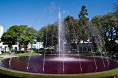 Praça da Espanha, no bairro Bigorrilho - Álbum - Prefeitura de Curitiba