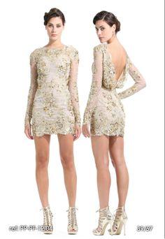 vestido corto de Zuhair Murad