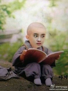 """I'm speechless Kyungsoo be like reading a book""""how to cook""""for all the military soldier in there Kyungsoo, Exo Chanyeol, Exo Memes Funny, Stupid Memes, Funny Humor, Meme Faces, Funny Faces, K Pop, Pokerface"""