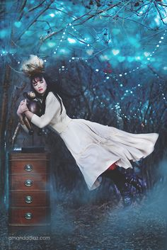Amanda Diaz a local Edmonton Photographer! She is amazing and i have worked with her numerous times! She has a range of photos and is very creative! Golden Compass Movie, Amanda Diaz, Gothic Images, Experimental Photography, Believe In Magic, Vintage Circus, Pop Surrealism, Dark Fantasy, Fantasy Characters