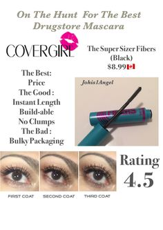 Chapter 2 😍👍🏻 Best Drugstore Mascara, Covergirl, Packaging, Good Things, Tips, Cover Girl, Wrapping, Counseling