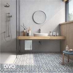 20 Rustic Bathroom Vanity Ideas that are Simply Unforgettable - Site Home Design Minimalist Bathroom, Modern Bathroom, Small Bathroom, Master Bathroom, Moroccan Tile Bathroom, Eclectic Bathroom, Beige Bathroom, Concrete Bathroom, Contemporary Bathrooms