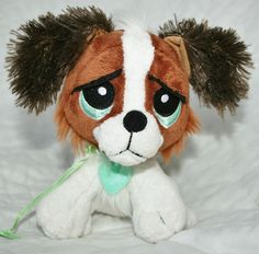 Rescue Pets My EPets Brown and white Puppy Dog Plush Toy stuffed animal Beagle  #RescuePetsMyEpets