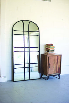 Top pick #6 by Jennifer Brouwer www.jenniferbrouwerdesign.com  Last but not least - Love this lofty metal mirror -- Have a project in mind already!! kalalou CRD1026 #Hpmkt Suites at Market Square M-2003