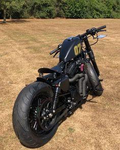 Harley Bobber, Bobber Motorcycle, Bobber Chopper, Custom Bobber, Custom Harleys, Hd Sportster, Victory Motorcycles, Forty Eight, Retro Bike