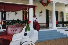 #Brandon Hall #NatchezTrace #Natchez #carriage #christmas