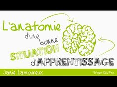 L'anatomie d'une situation d'apprentissage - par Janie Lamoureux - YouTube