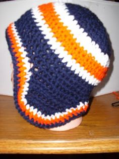 Free Earflap Hat Pattern with color change instruction...added modifications for bigger heads.