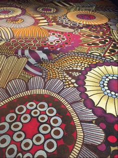 Mgm Grand carpeting Las Vegas. Is this Marimekko Siirtolapuutarha?