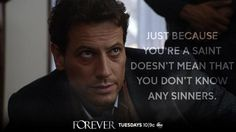 "S1 Ep7 ""New York Kids"" -  A certain New York ""saint"" carried a lot of secrets. Find out what they are on an all-new #Forever tonight!"