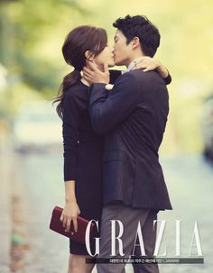 Lee Bo Young and Ji Sung in Spain for Grazia - OMONA THEY DIDN'T! Endless charms, endless possibilities ♥