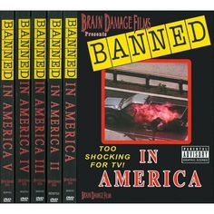 Banned in America, Vols. 1-5 (5 Discs)
