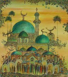 Iraqi artist - Widad alOrfali