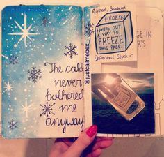 Wreck This Journal - Freeze This Page