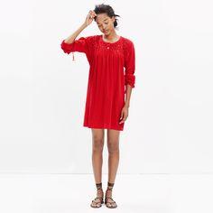 Eyelet Daybreak Dress : SWIM & COVER-UPS | Madewell