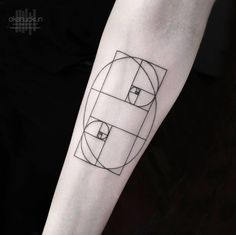 Geometric Tattoo Design by Okan Uckun