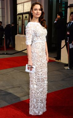 Olga Kurylenko from 2016 BAFTA Film Awards: Celebrity Arrivals | E! Online