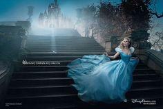 Scarlett Johansson como Cinderela