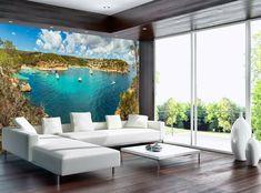 Photo Wallpaper, Wall Wallpaper, Bay Photo, Wall Murals, Dining Table, Poster, Furniture, Home Decor, Vinyls