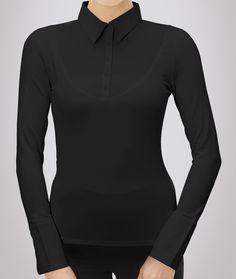Skinny Shirt - BLACK SOLID LONG-SLEEVE, $76.00 (http://www.skinnyshirt.com/black-solid-long-sleeve/)