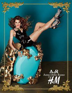 Anna Dello Russo x H in stores 4th October 2012