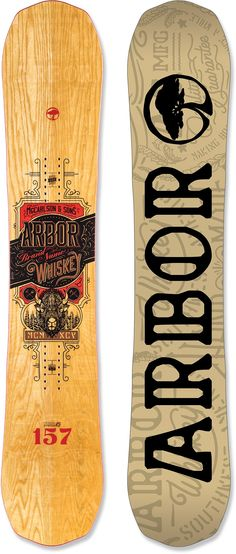 Arbor Male Whiskey Snowboard /2016
