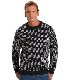Bean's Norwegian Sweater: Sweaters and Sweatshirts   Free Shipping at L.L.Bean