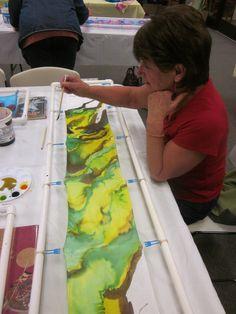 Painting Classes, Silk Painting, Student Work, Paintings, Art, Craft Art, Painting, Kunst, Gcse Art