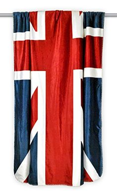 DII Home Essentials Reversible Ultra Plush Sherpa Printed Throw Blanket for Bedroom, Counch, Car, Gift, Dorm, 50 by 60-Inch, British Flag Home Essentials http://www.amazon.com/dp/B00QGG8UMM/ref=cm_sw_r_pi_dp_z.OVvb1679N3P