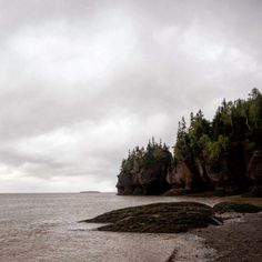 Back on our road trip  to the east coast, at the Hopewell Rocks in New Brunswick
