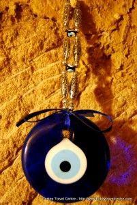 Found in a cave shop in Cappadocia, the Evil eye