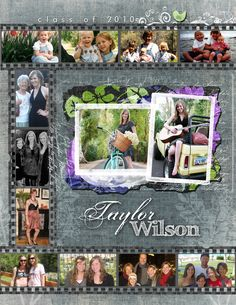 Custom Senior Pages » Kacey Luvi Creative Productions