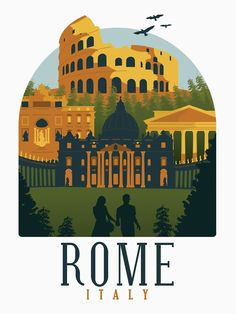 Italy Art, Rome Italy, Wonderful Dream, Roman Forum, Famous Buildings, Travel Posters, Italy Travel, Lovers Art, Order Prints
