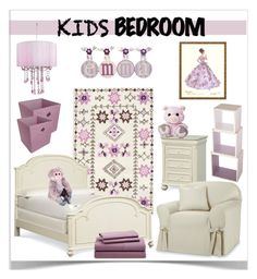 """""""Kids' Bedrooms Contest"""" by jpetersen ❤ liked on Polyvore featuring interior, interiors, interior design, home, home decor, interior decorating, Nordstrom, Sure Fit, Sebra and Room Essentials"""