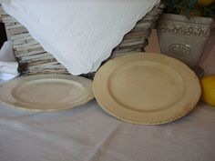 Cake Plates made by Harker Cottage Chic French by RococoCatStudio, $22.00