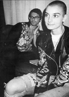 Sinead O'Connor & Michael Hutchence @ The Grammy's LA 1989.